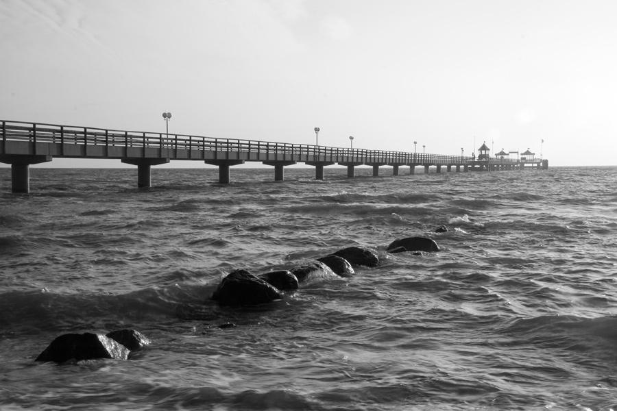 Seebrücke in Grömitz.