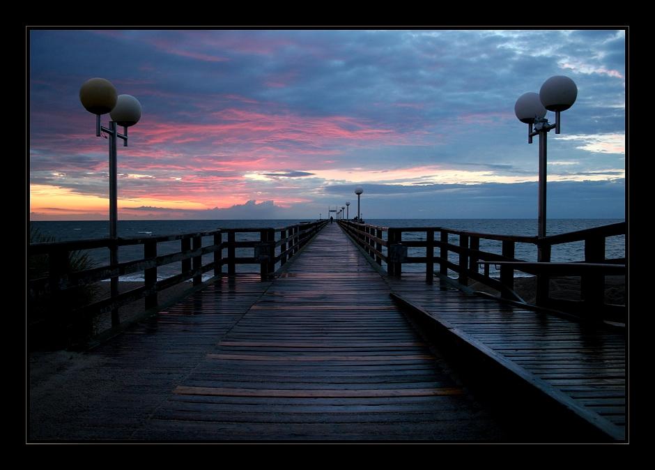 Seebrücke Rerik im Abendlicht II