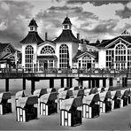 Seebrücke Sellin - ein Traum auch in Schwarzweiß