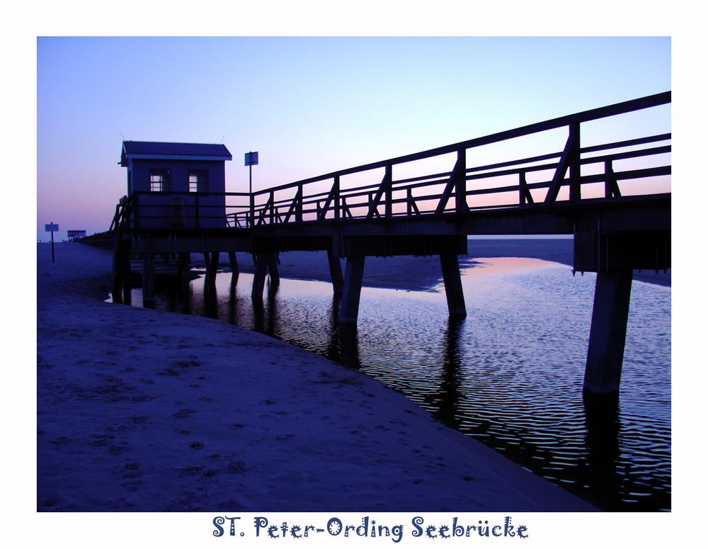 Seebrücke St. Peter-Ording