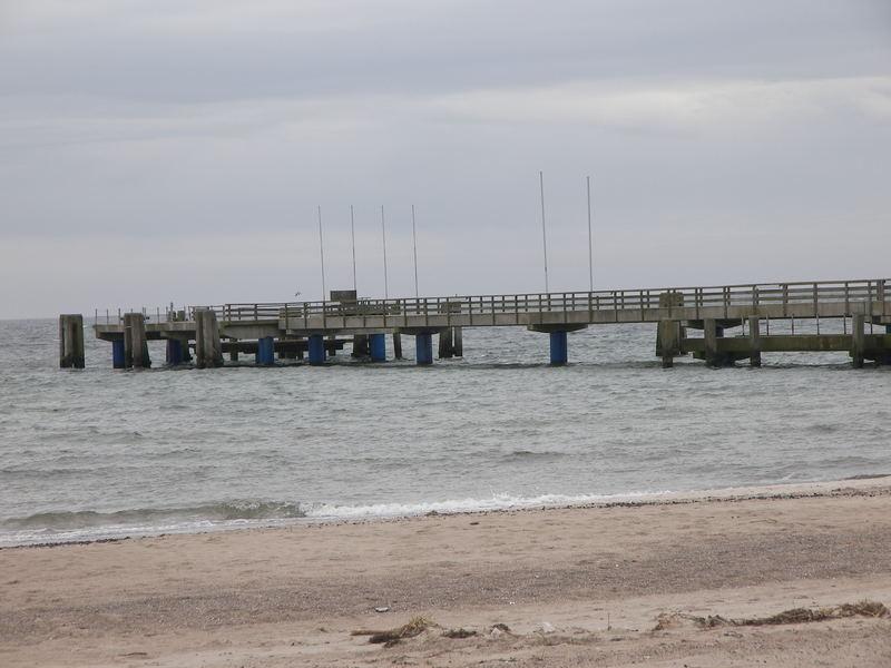 Seebrücke von Dahme am 7.3.07