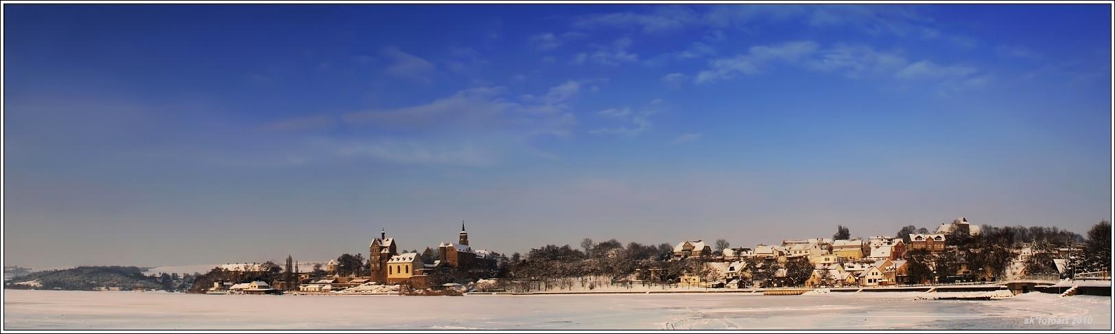 Seeburg im Winter