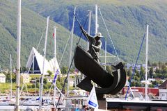 Seefahrer-Denkmal in Tromso