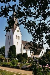 Seefahrerkirche in Nebel auf Amrum