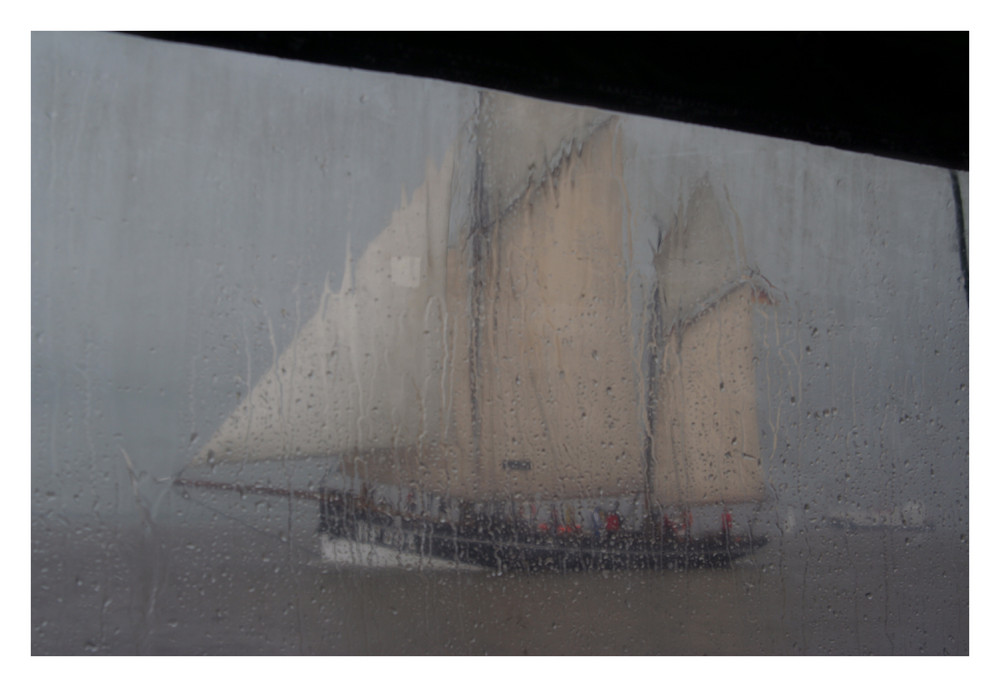 Seefahrt ist eine feuchte Angelegenheit