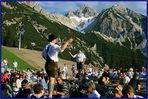 Seefeld - Tirol, Sonnenwendfeier auf der Rosshütte