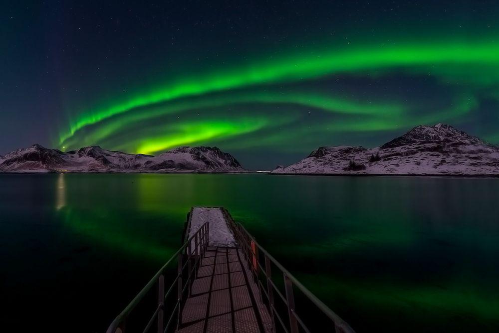 seeing the aurora borealis