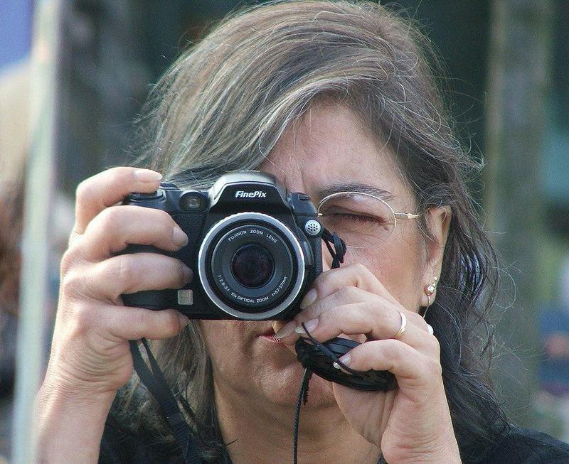 Seeing the World through a mirror (camera)