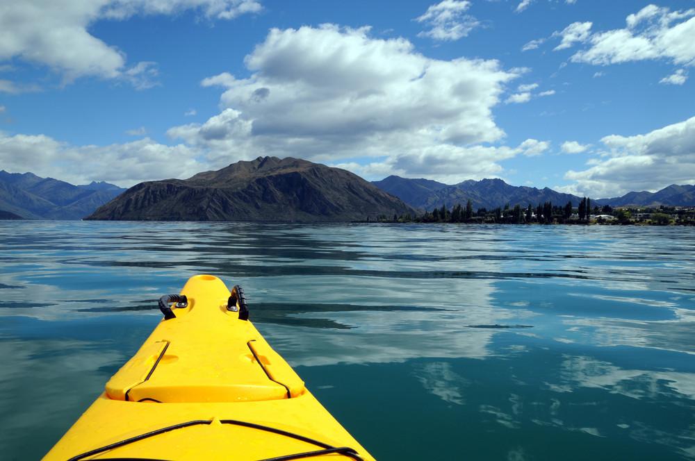 Seekajaking in New Zealand