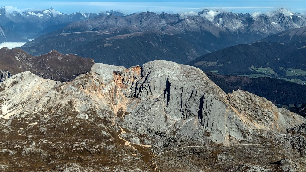 SEEKOFEL- Südwand (Gipfel 2.810m)