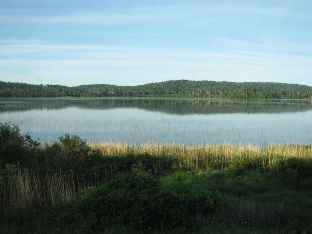 Seelandschaft in Ontario (Kanada)