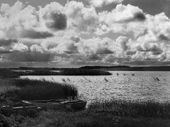 Seelandschaft (SW Analog Foto)