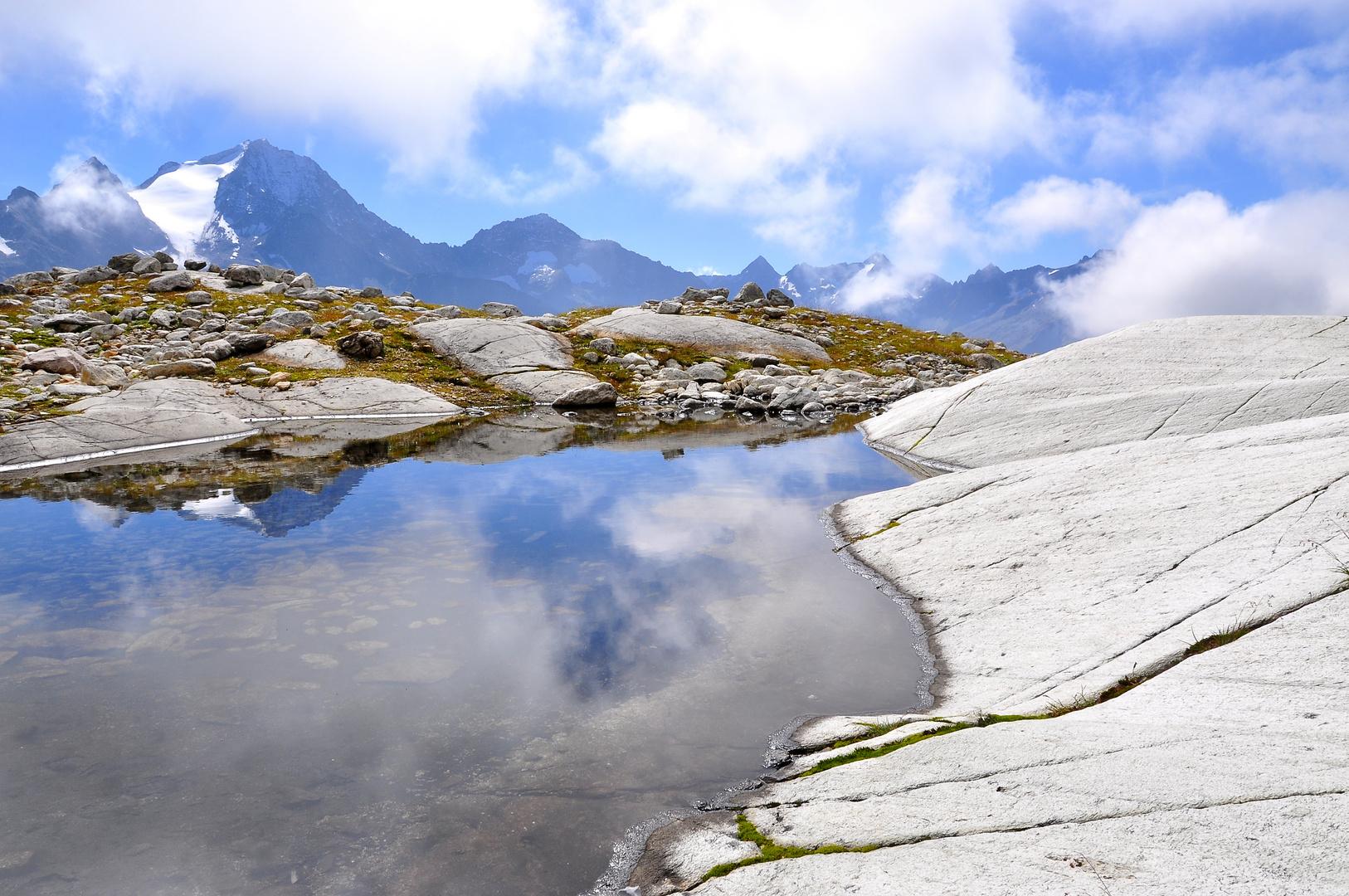 Seeli am Schwarzberg, Blick zum Oberalpstock