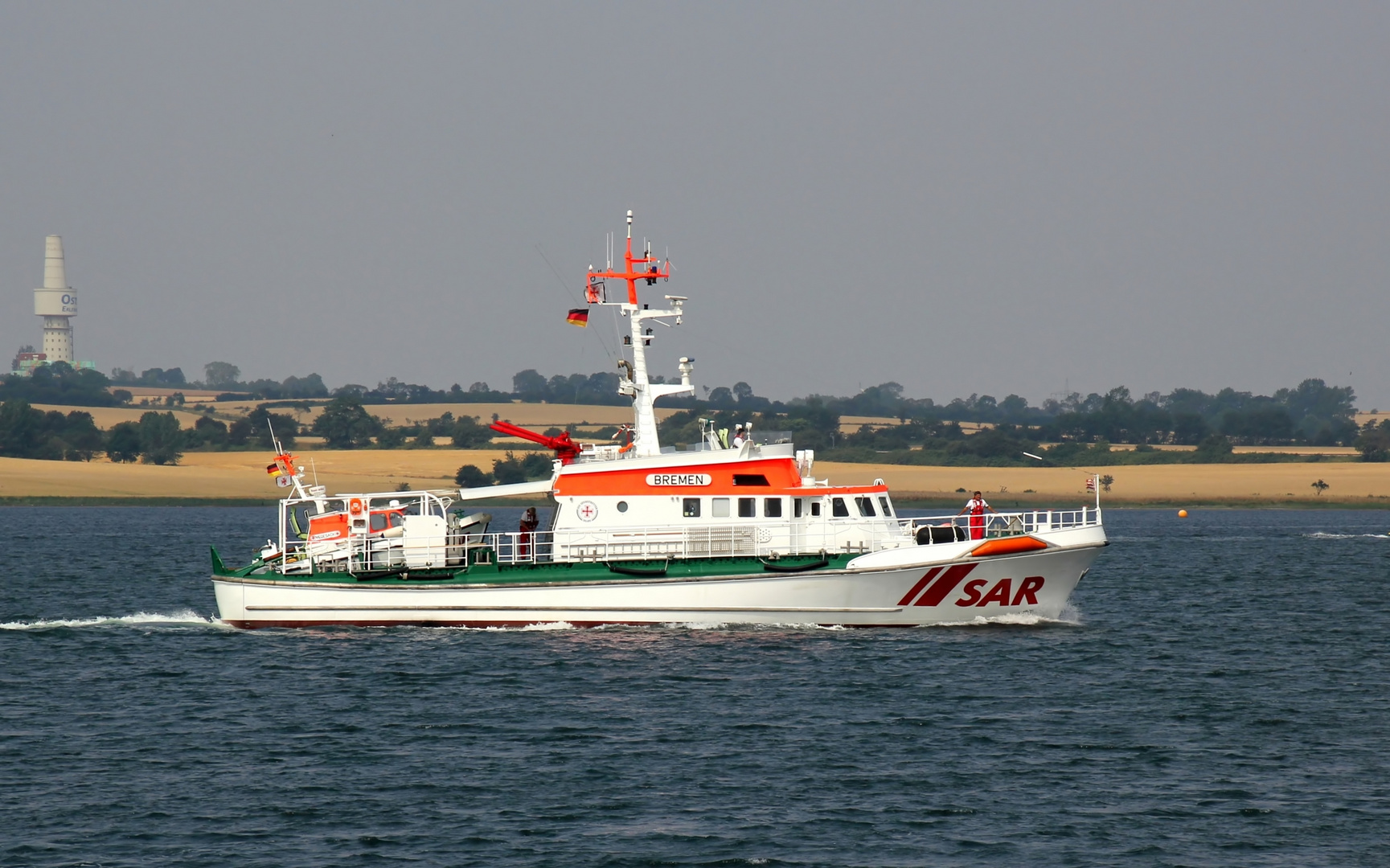 Seenotrettungskreuzer BREMEN