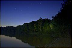 Seenplatte bei Nacht