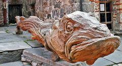 Seeteufel aus Holz