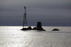 Seezeichen auf dem Weg nach Bergen - jetzt mit korrigiertem Horizont
