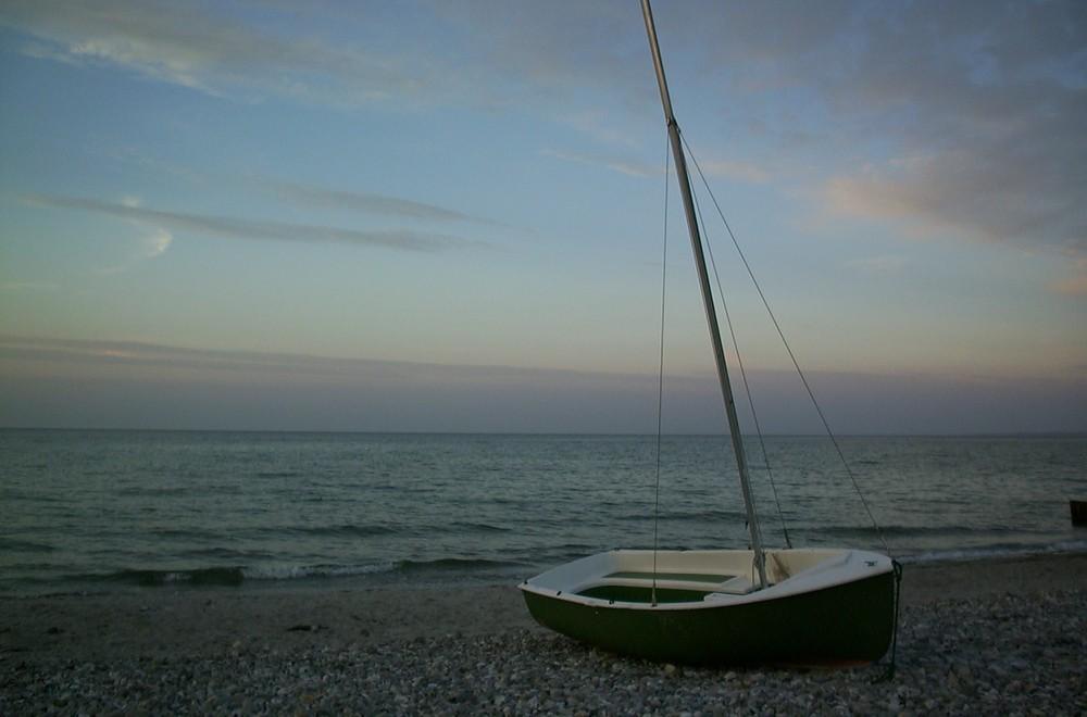Segelboot ...