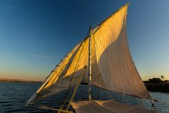 segeln auf dem nil