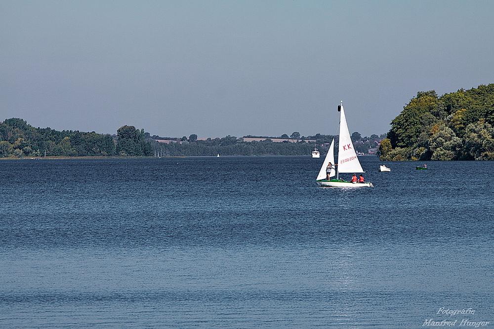 Segeln auf dem Ratzeburger See (3)