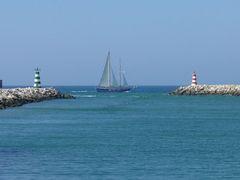 Segeln vor der Algarve
