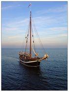Segelschiff auf dem Meer