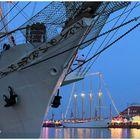 Segelschiff-Idylle