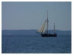 Segelschiff vor Rügen