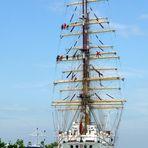 Segelschiffe im Hafen von Warnemünde / Teil 1