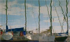 Segelschiffe und Masten