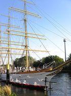 Segelschulschiff - aufgelegt