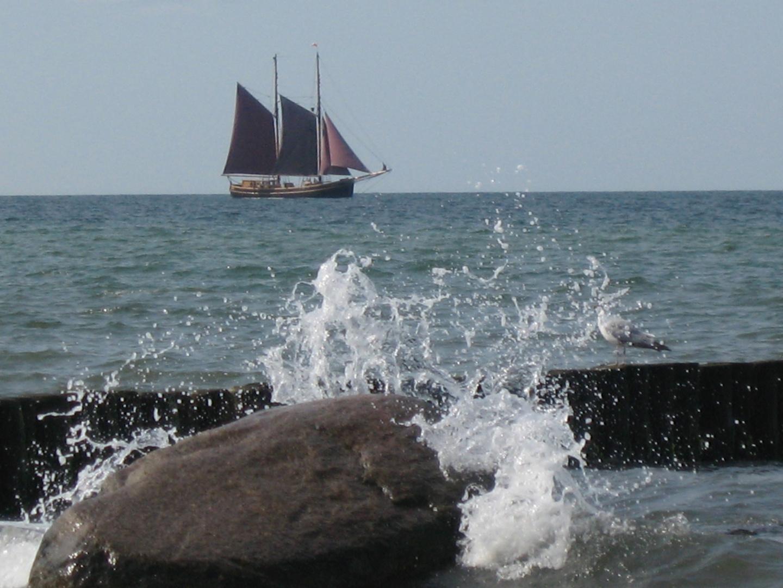 Segeltörn auf der Ostsee