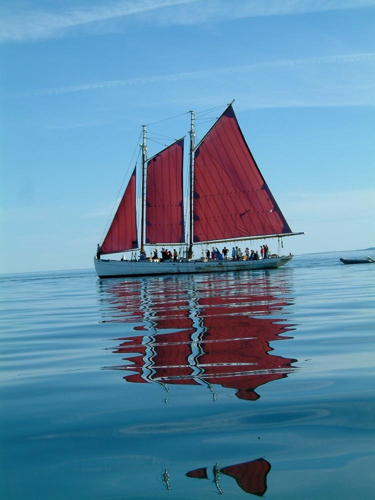 Segelyacht vor St. Andrews (Can)