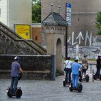 Segways in Köln