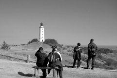 Sehnsucht Hiddensee Leuchtturm