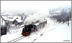 Sehnsucht nach Eisenbahn im Winter