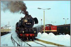Sehnsucht nach Eisenbahn im Winter II