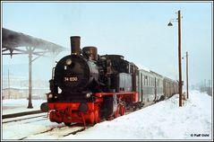 Sehnsucht nach Eisenbahn im Winter III