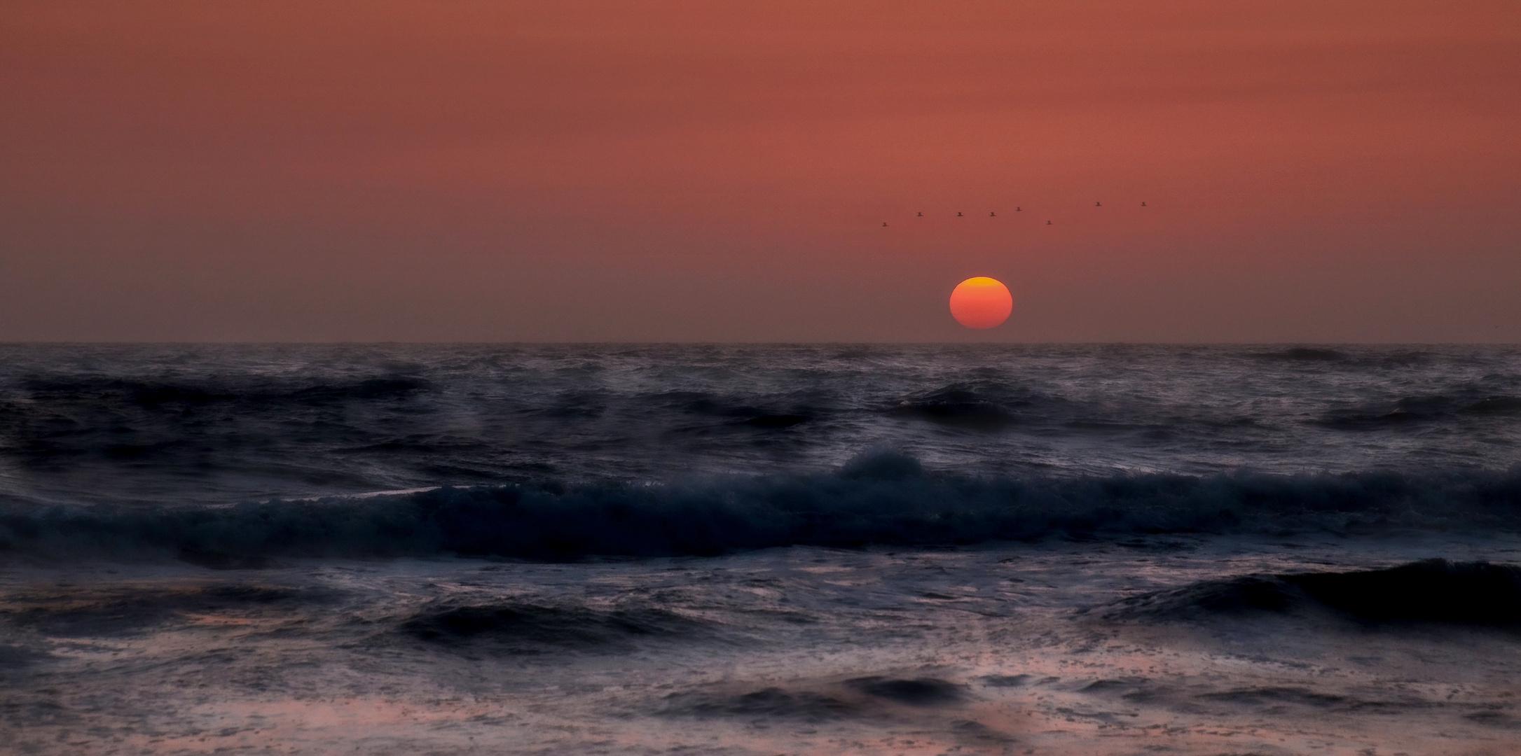 Sehnsucht nach Wochenende und Sehnsucht nach dem Meer