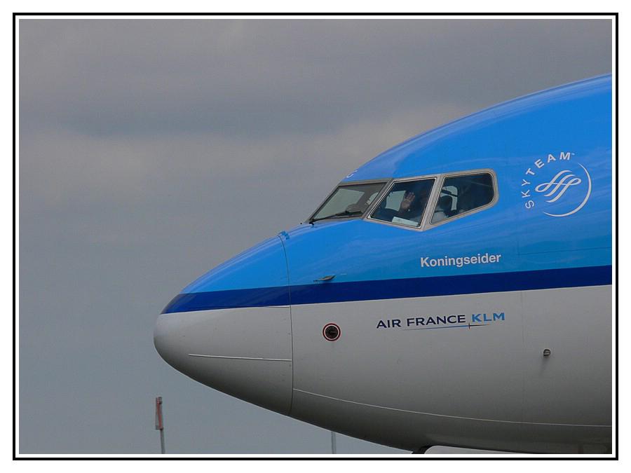 Sehr nette KLM Piloten