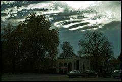 Sehr ungewöhnliche Wolken...
