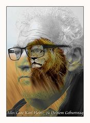 Sei wieder ein Löwe!