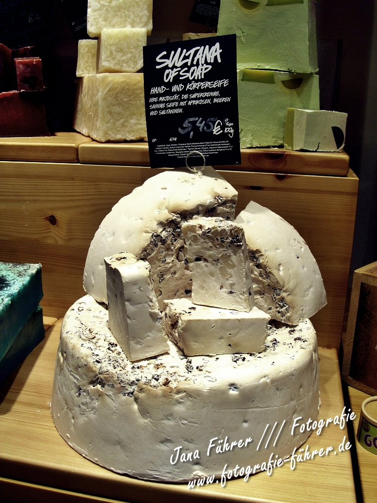 Seife - sieht aus wie Käse