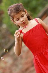 Seifenblasen....