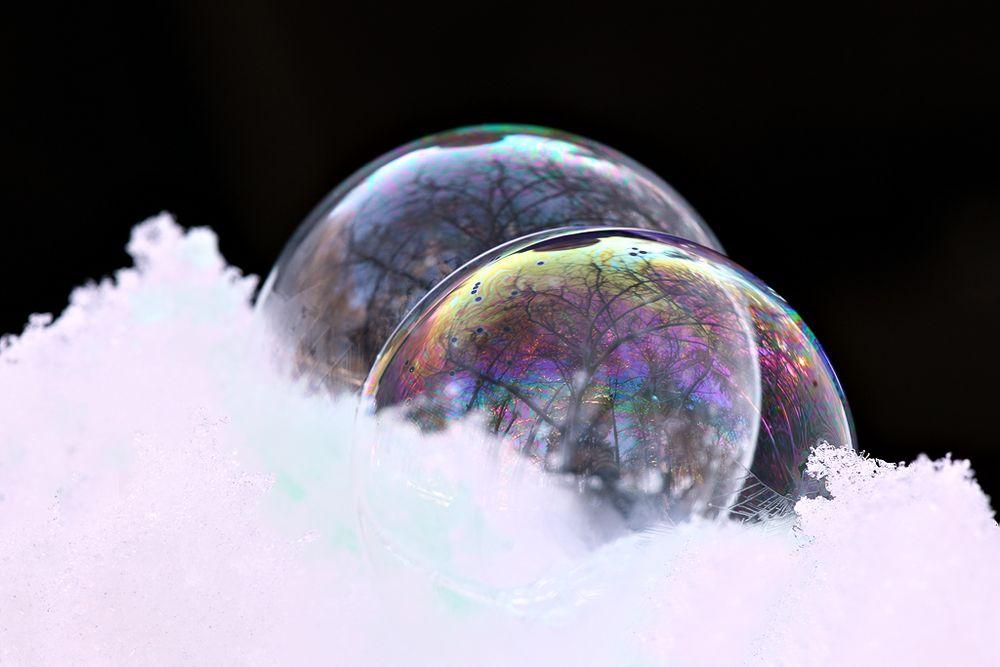 Seifenblasenexperiment