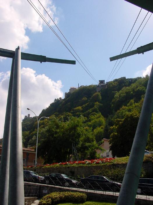 Seilbahn ins Centro Storico San Marinos