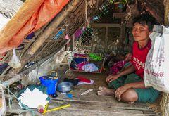 ...sein Haus am Irrawaddy...