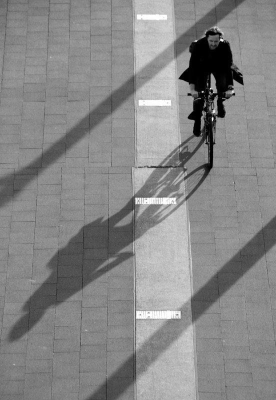 Seinen Schatten