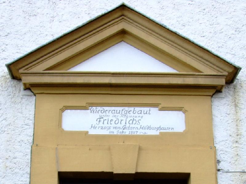 Seiner Gnaden Kirchenportal ...