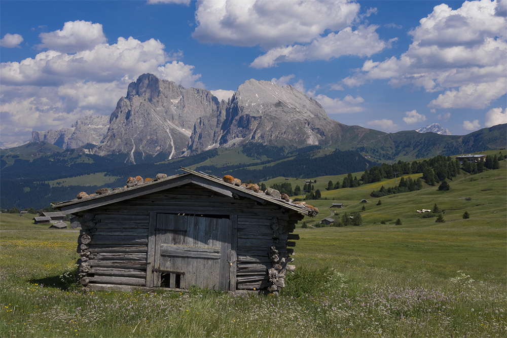 Seiser Alm Hütte